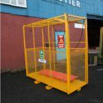 Crane Man Rescue Cage